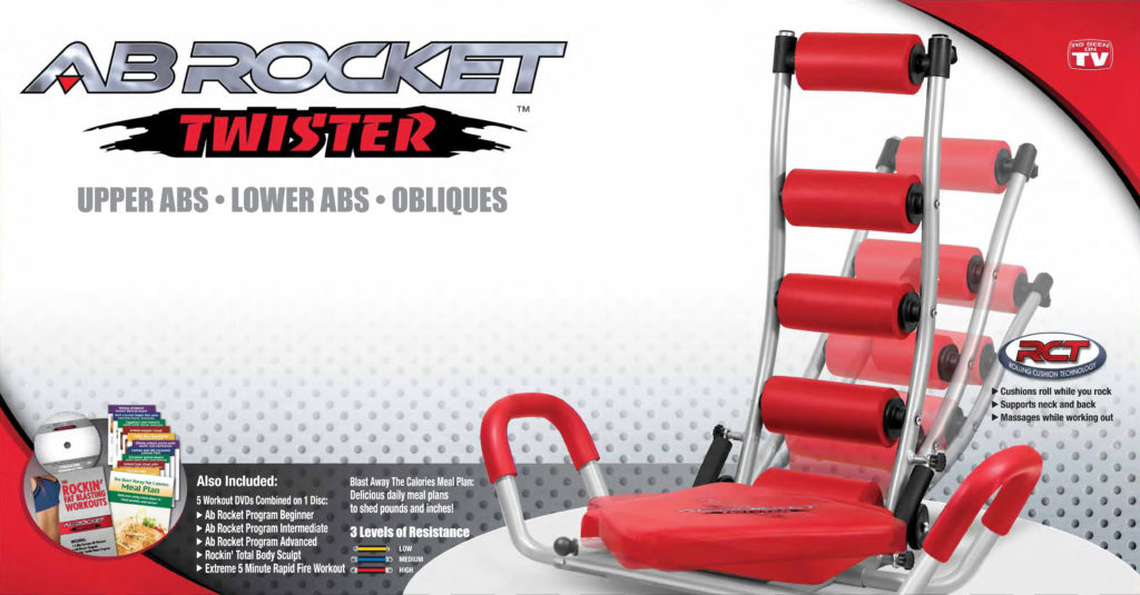 AB ROCKET TWISTER Regular BOX v9 ProTV
